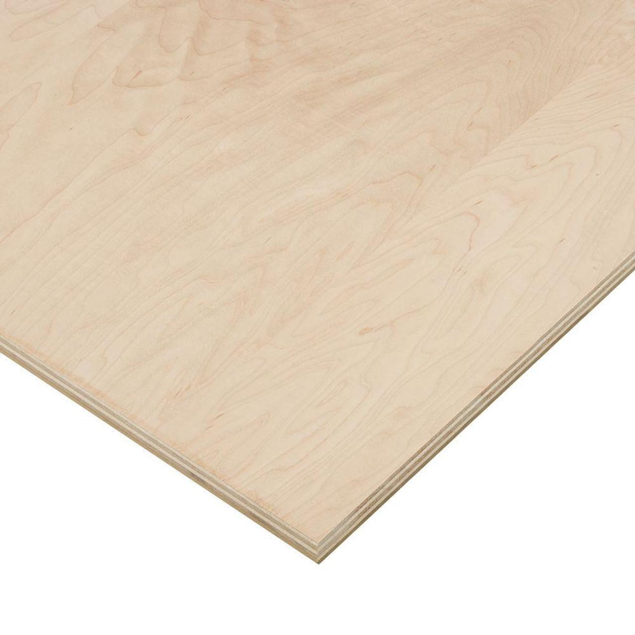"Birch Wood 1/2"" 48"" x 96"""