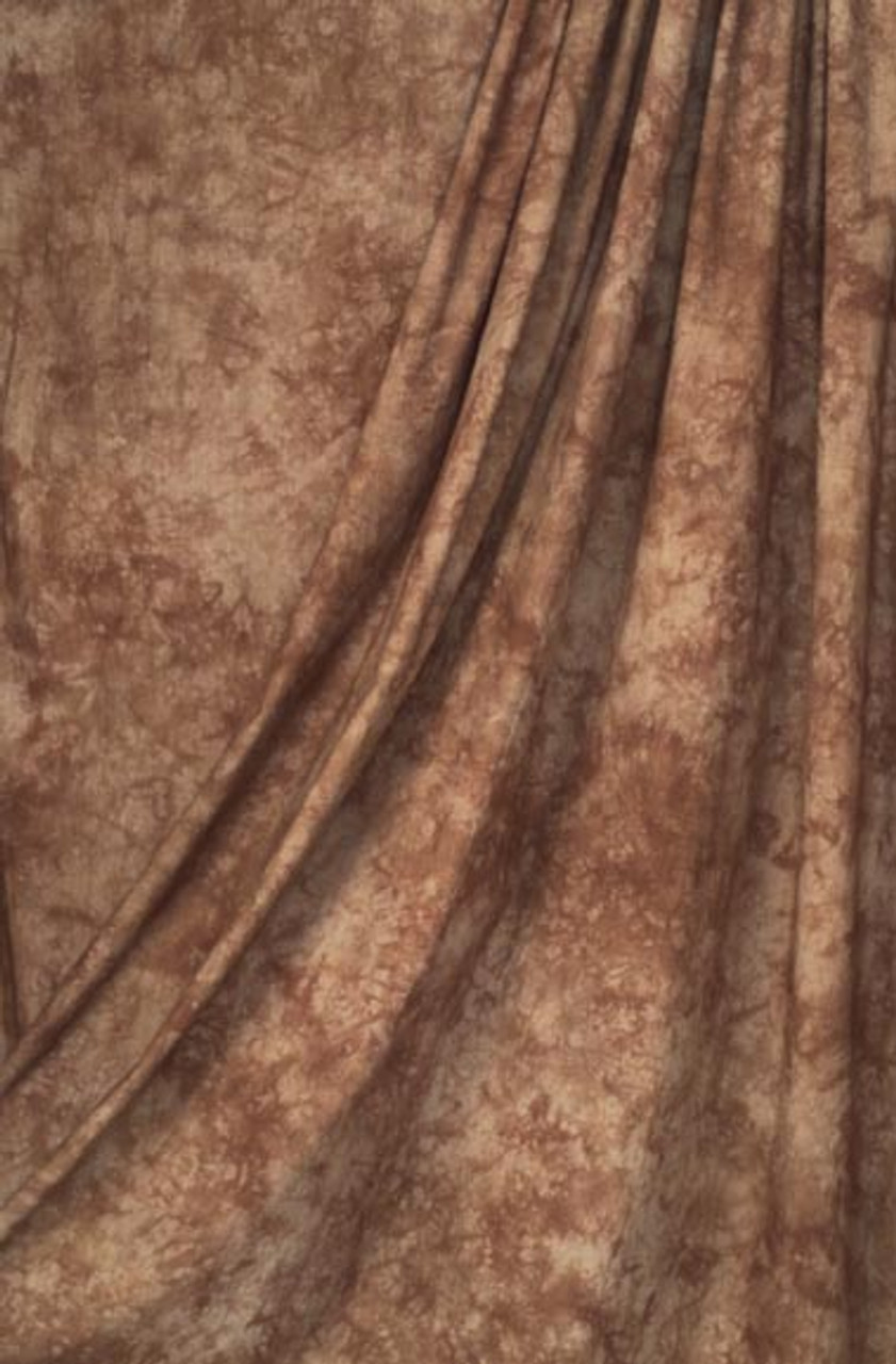 Rentall - Muslin Backdrop ( Chestnut ) 10 ft x 12' (3 x 3.6m)