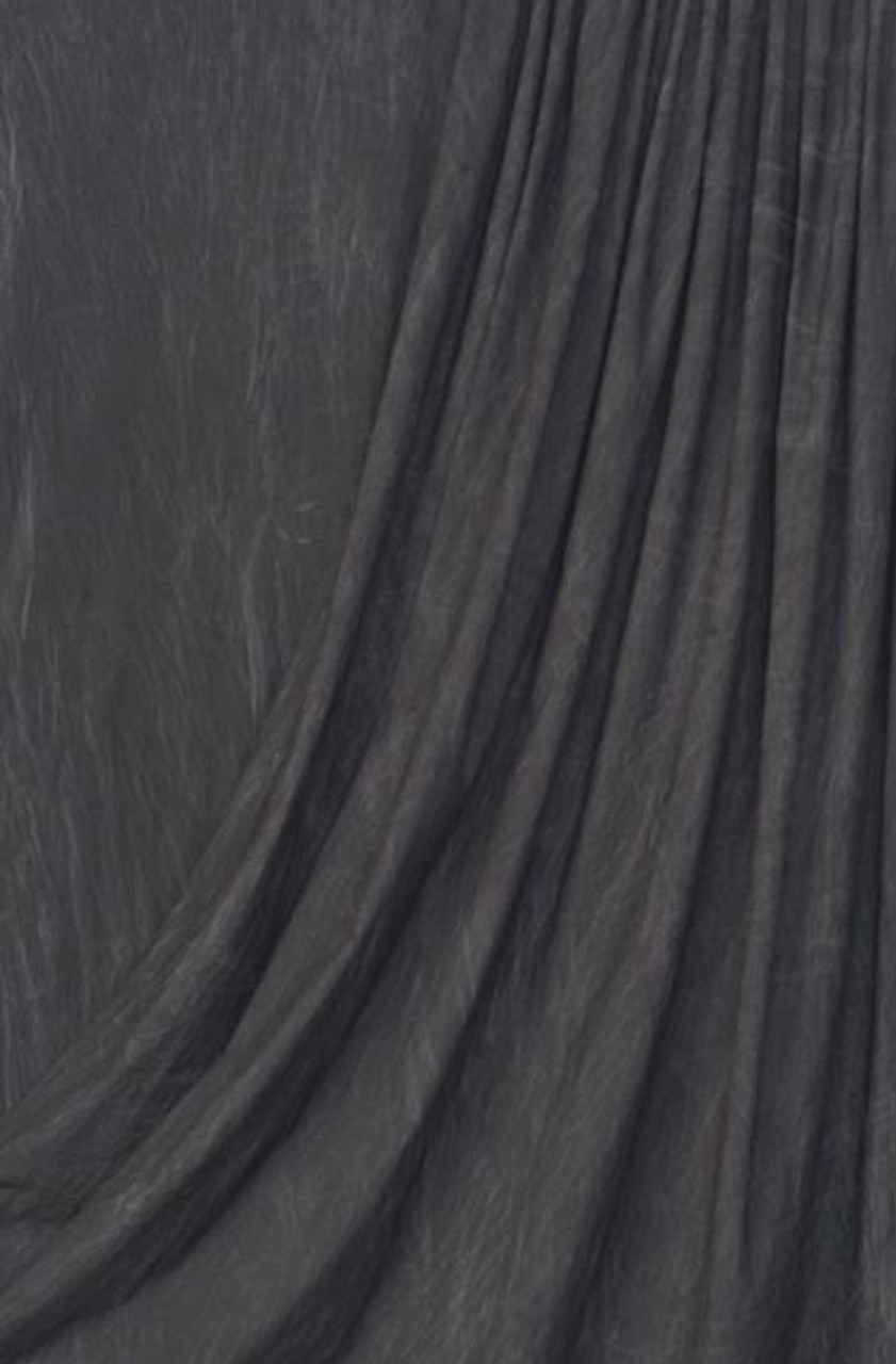 Rental - Muslin Backdrop ( Dark Grey ) 10 ft x 24' (3 x 7.3m)