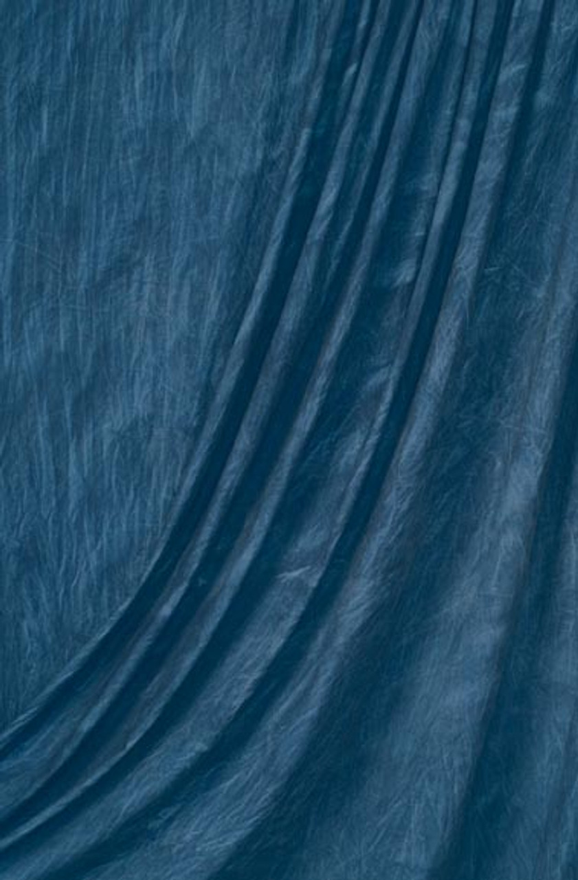 Rental - Muslin Backdrop ( Blue Wash ) 10 ft x 24' (3 x 7.3m)