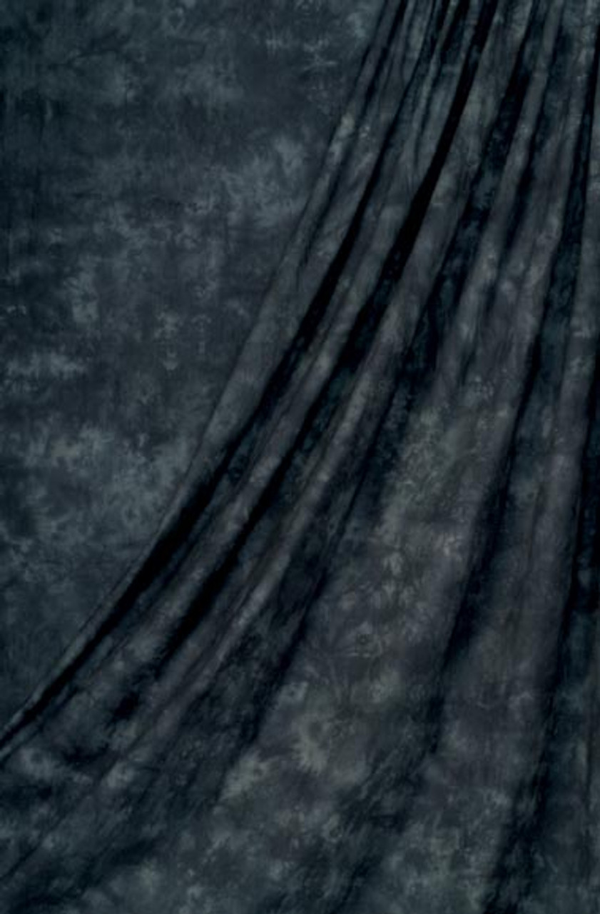Rental - Muslin Backdrop ( Charcoal ) 10 ft x 24' (3 x 7.3m)