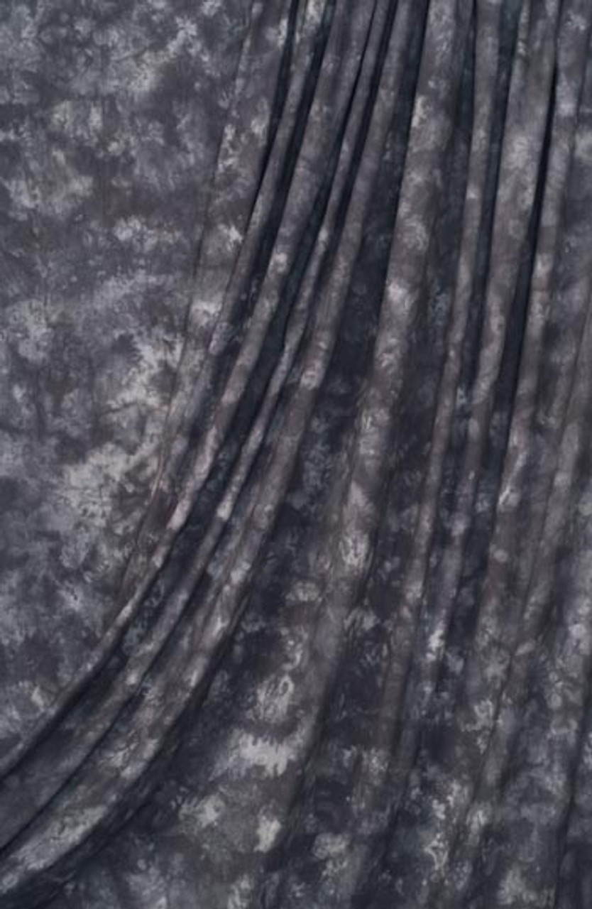 Rental - Muslin Backdrop ( Storm Grey ) 10 ft x 24' (3 x 7.3m)