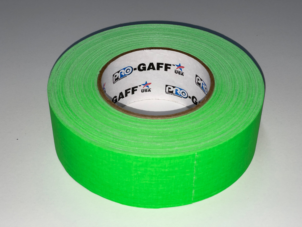 "Pro Gaffers Tape - Neon Green 2"" x 50 Yds"