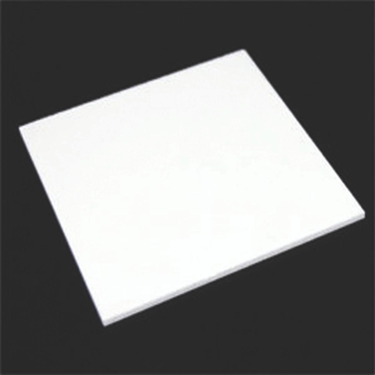 "4' x 8' x 1/8"" Opaque White Acrylic Sheet"