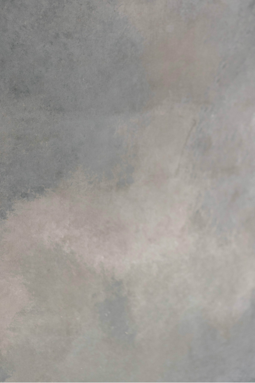 Hand Painted Canvas Backdrop - Textured Grey - 8' x 12'
