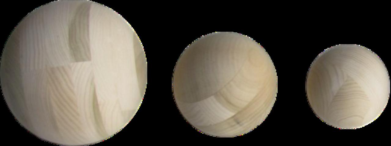 """Wooden Sphere 4"""""""
