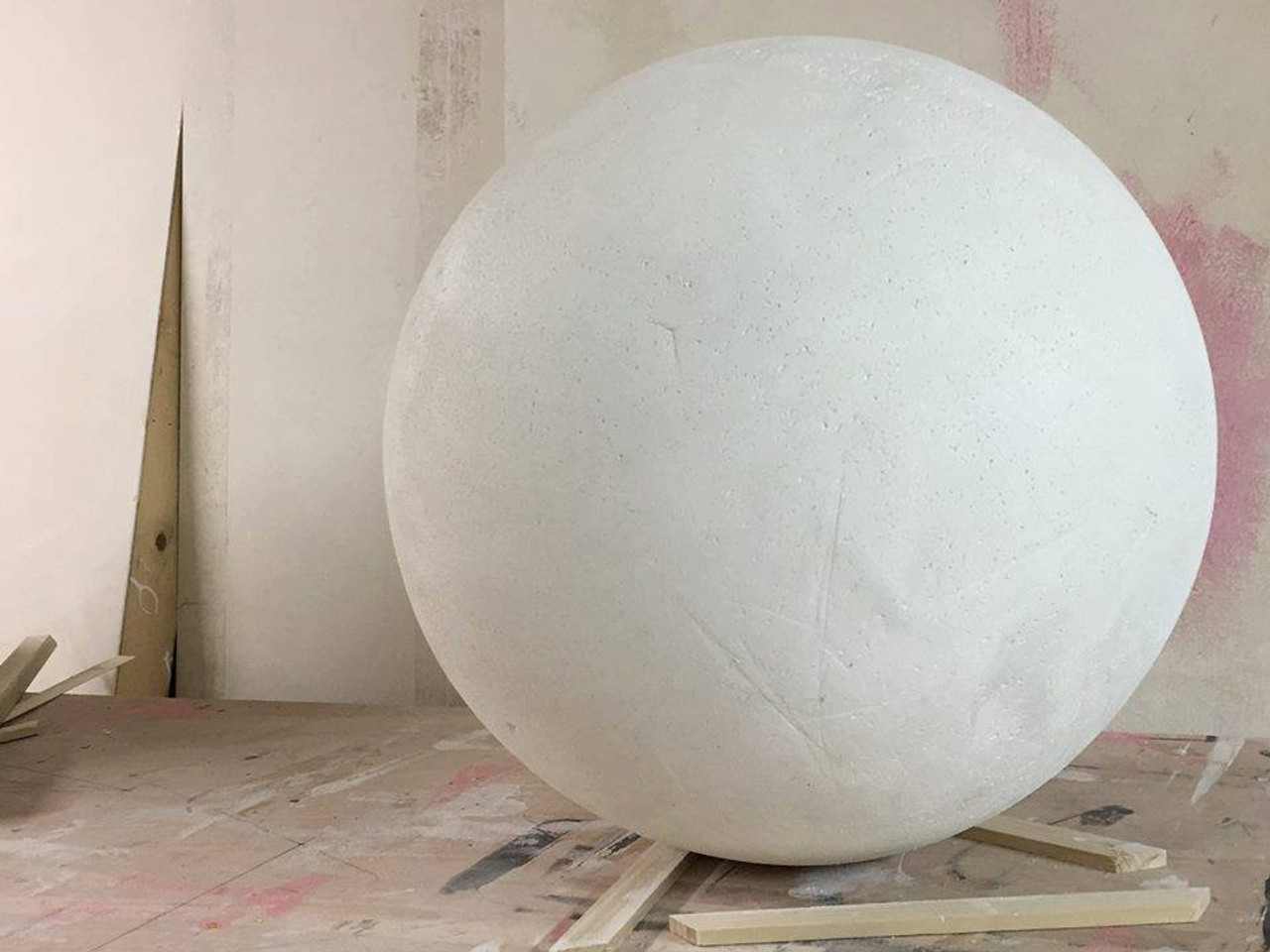 """Wooden Sphere 6"""""""