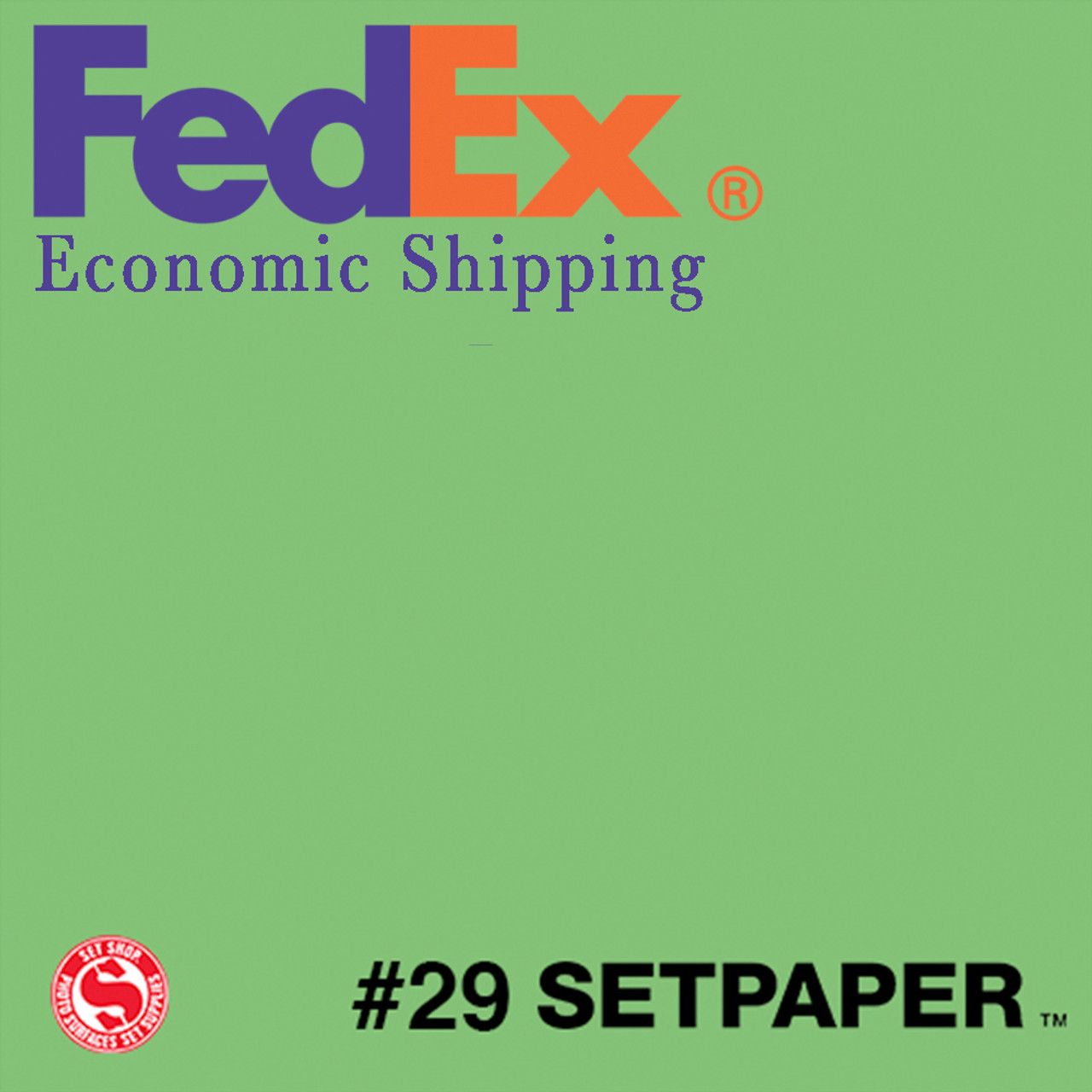 "(ECONOMIC SHIPPING) SETPAPER - APPLE GREEN 48"" x 36' (1.3 x 11m)"