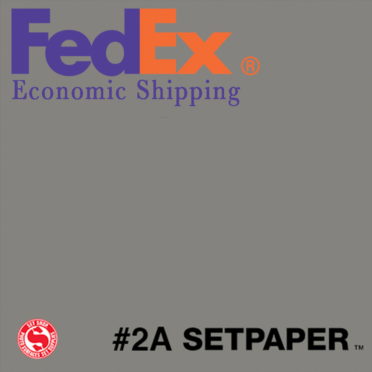 "(ECONOMIC SHIPPING) SETPAPER - THUNDER GREY 48"" x 36' (1.3 x 11m)"