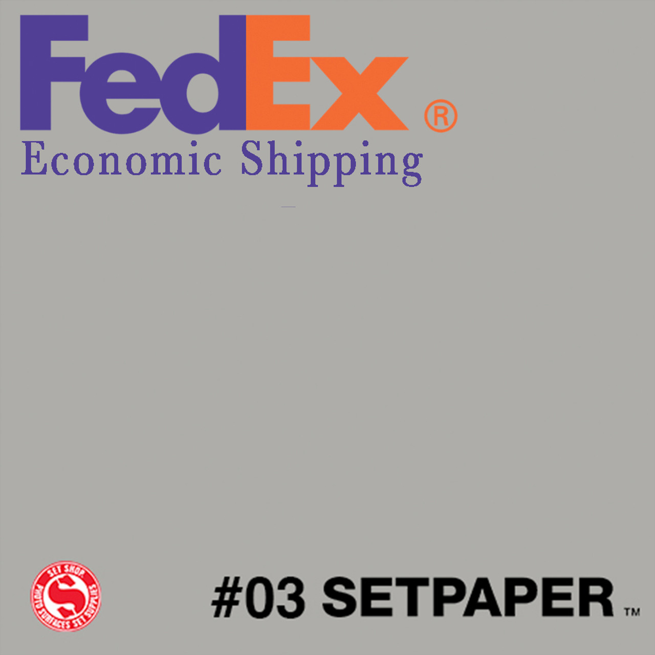 "(ECONOMIC SHIPPING) SETPAPER - SLATE GREY 48"" x 36' (1.2 x 11m)"