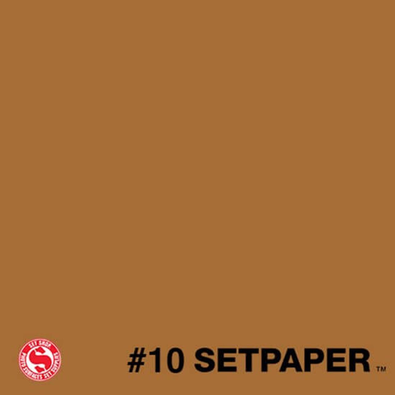 """SXL10 SETPAPER - BURNT UMBER 107"""" x 165' (2.7 x 50m)"""