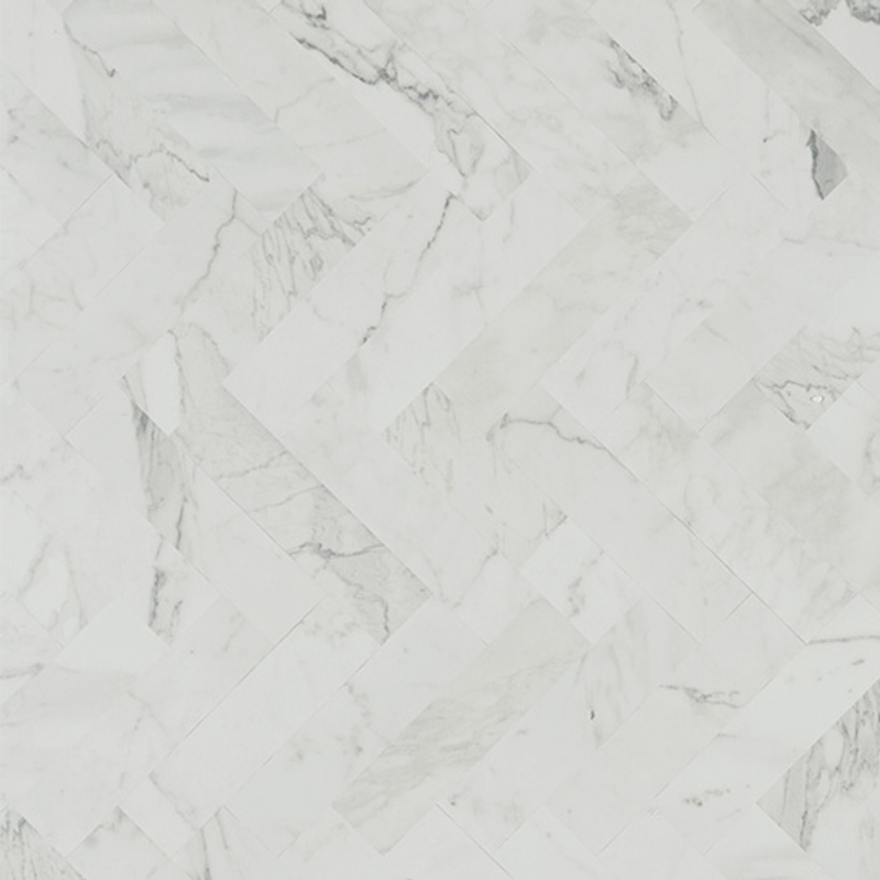 "Formica White Marble Herringbone 9310 30""x40"" (set of 3)"