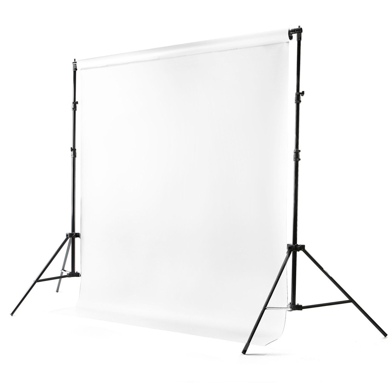 Pure White Vinyl Backdrop 8' x 10'