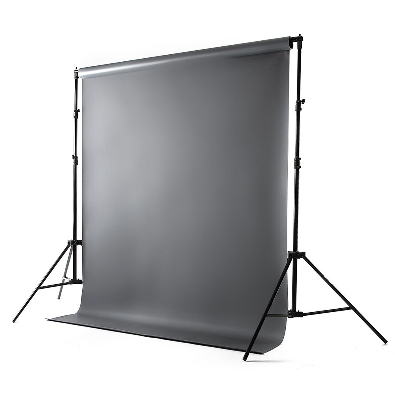 Photo Gray Vinyl Backdrop 8' x 10'