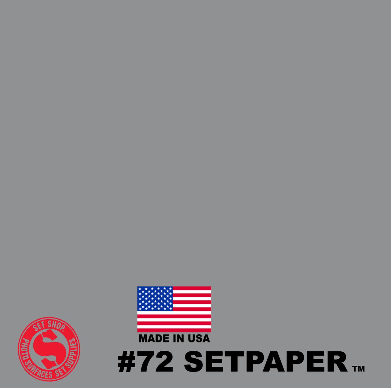 """EXTRA LONG SETPAPER - CONCRETE 107"""" x 36' (2.7 x 11m)"""