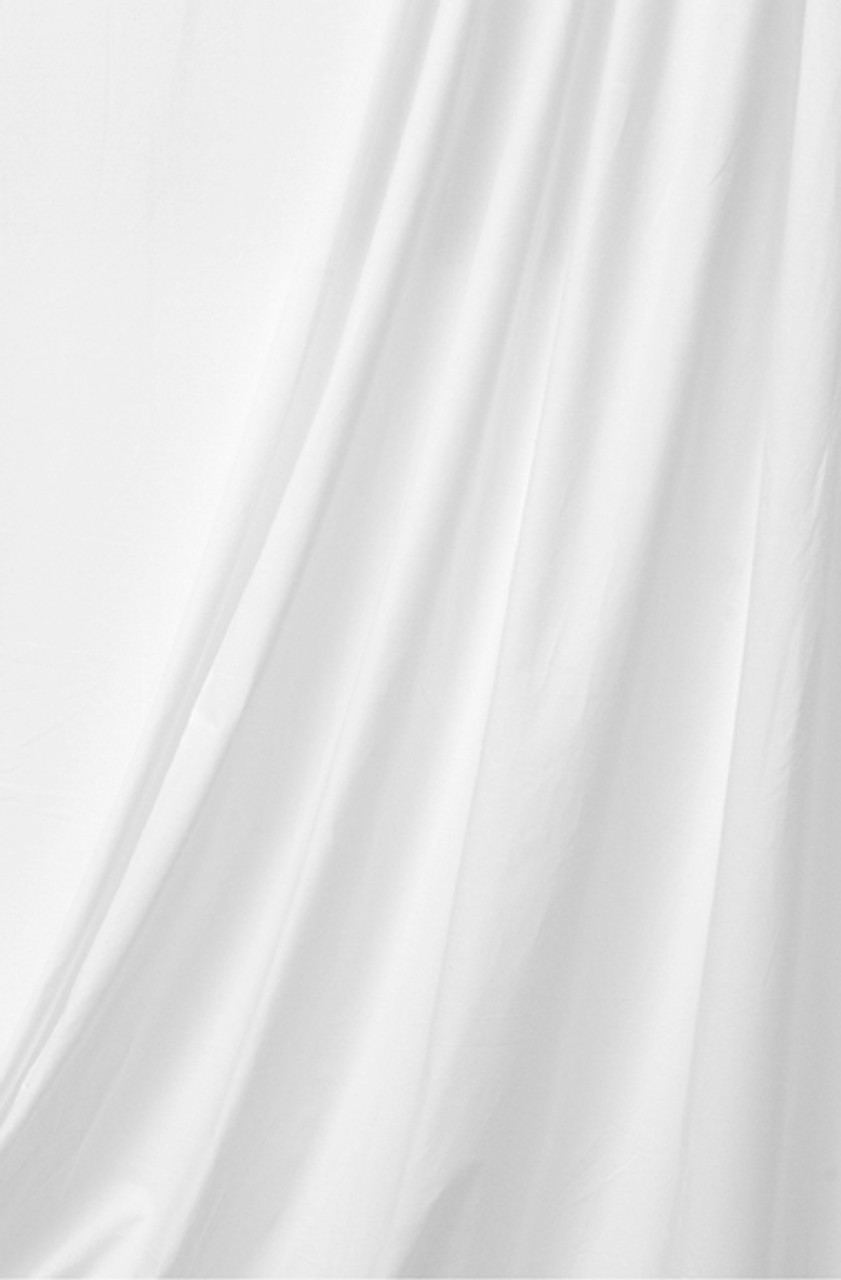 Rental-10' X 12' Solid Color Muslin White Bleached