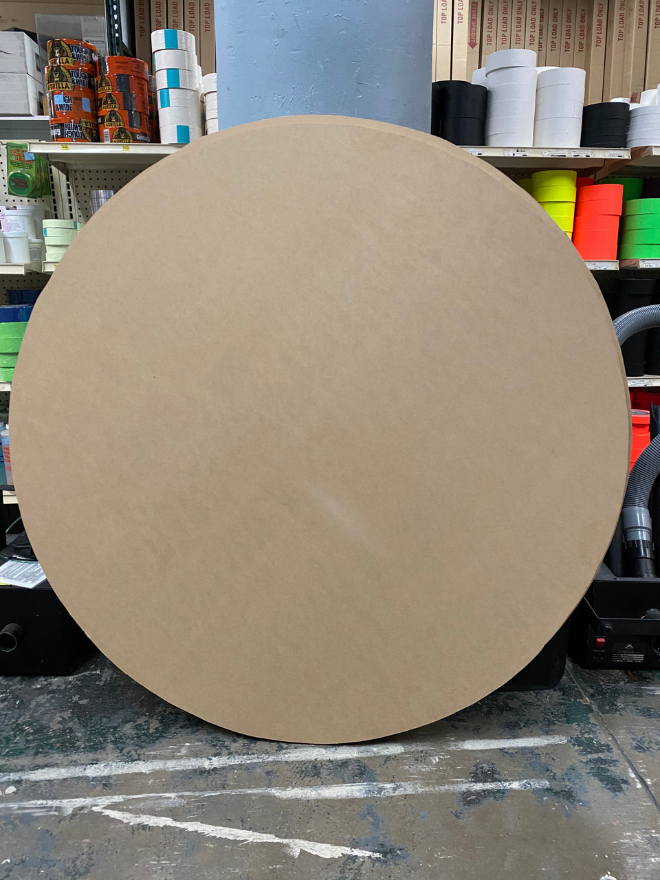 "48"" MDF Circle  3/4"" Thickness -  For Purchase ."