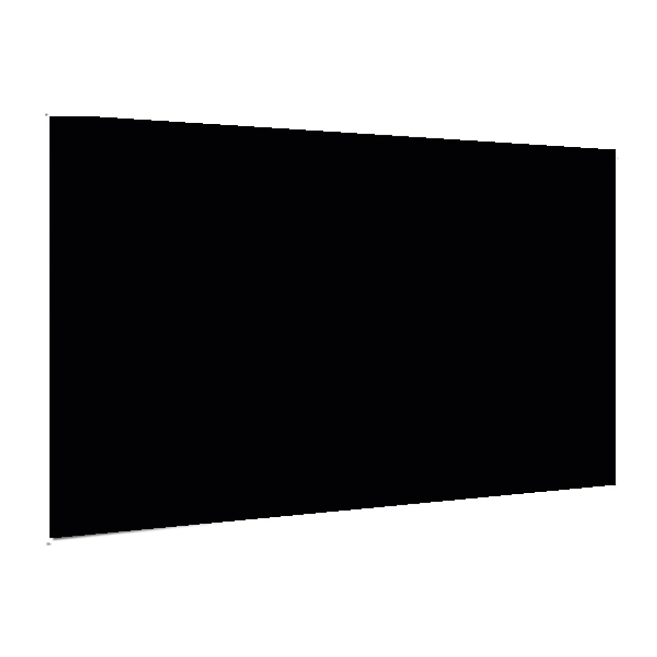 "Showcard - Glossy Black - 28"" x 44"""