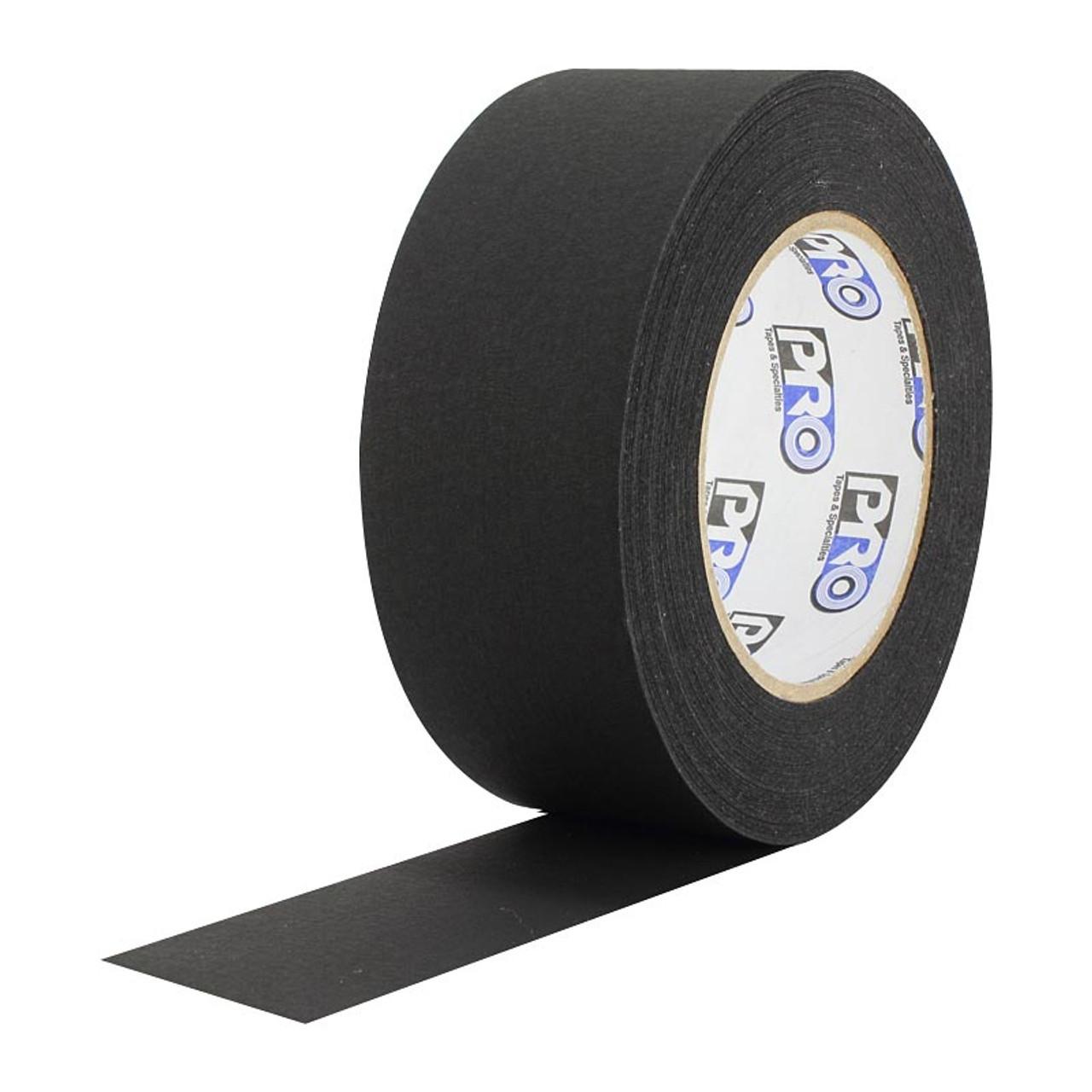 "Flat Black Paper Tape  2"""