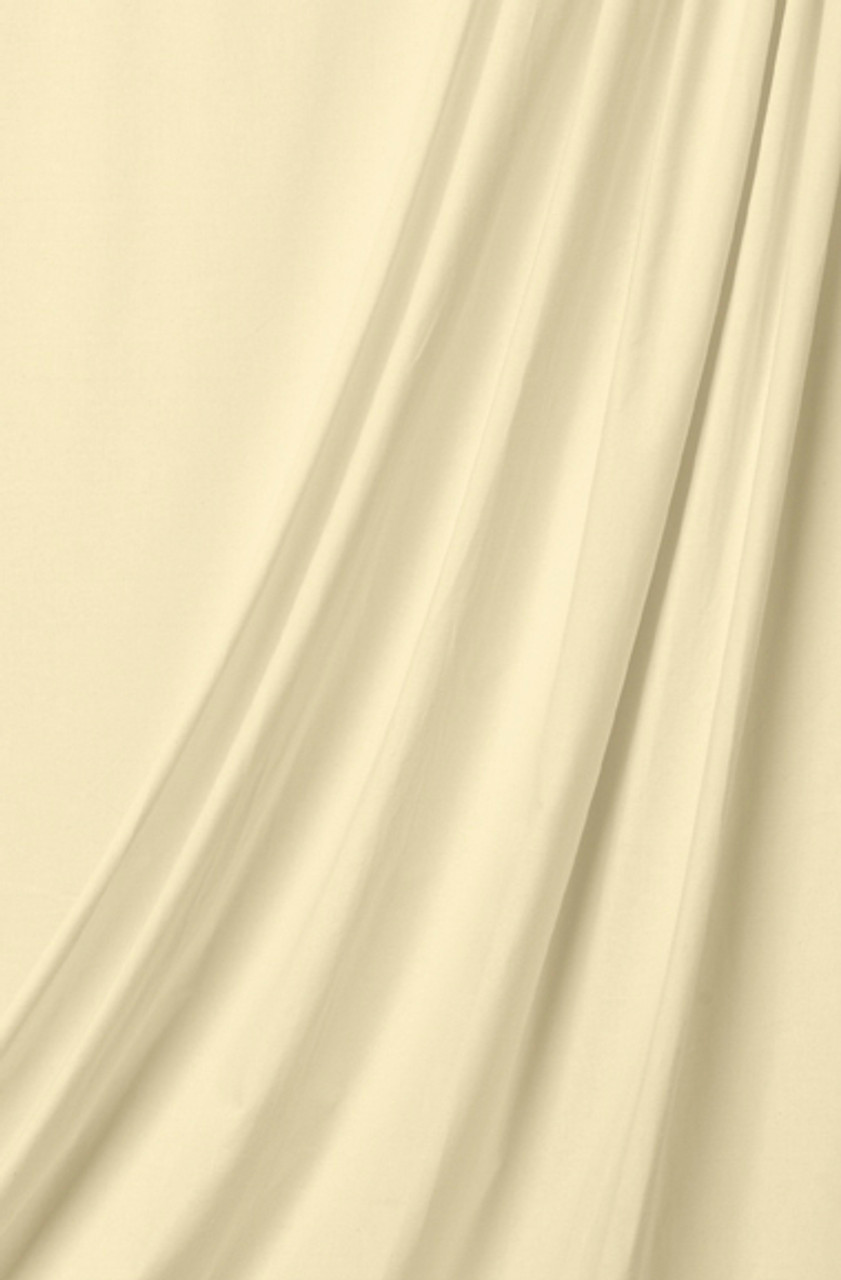 10' x 24' Solid Color Muslin, Natural  (3.048m x 7.315m)