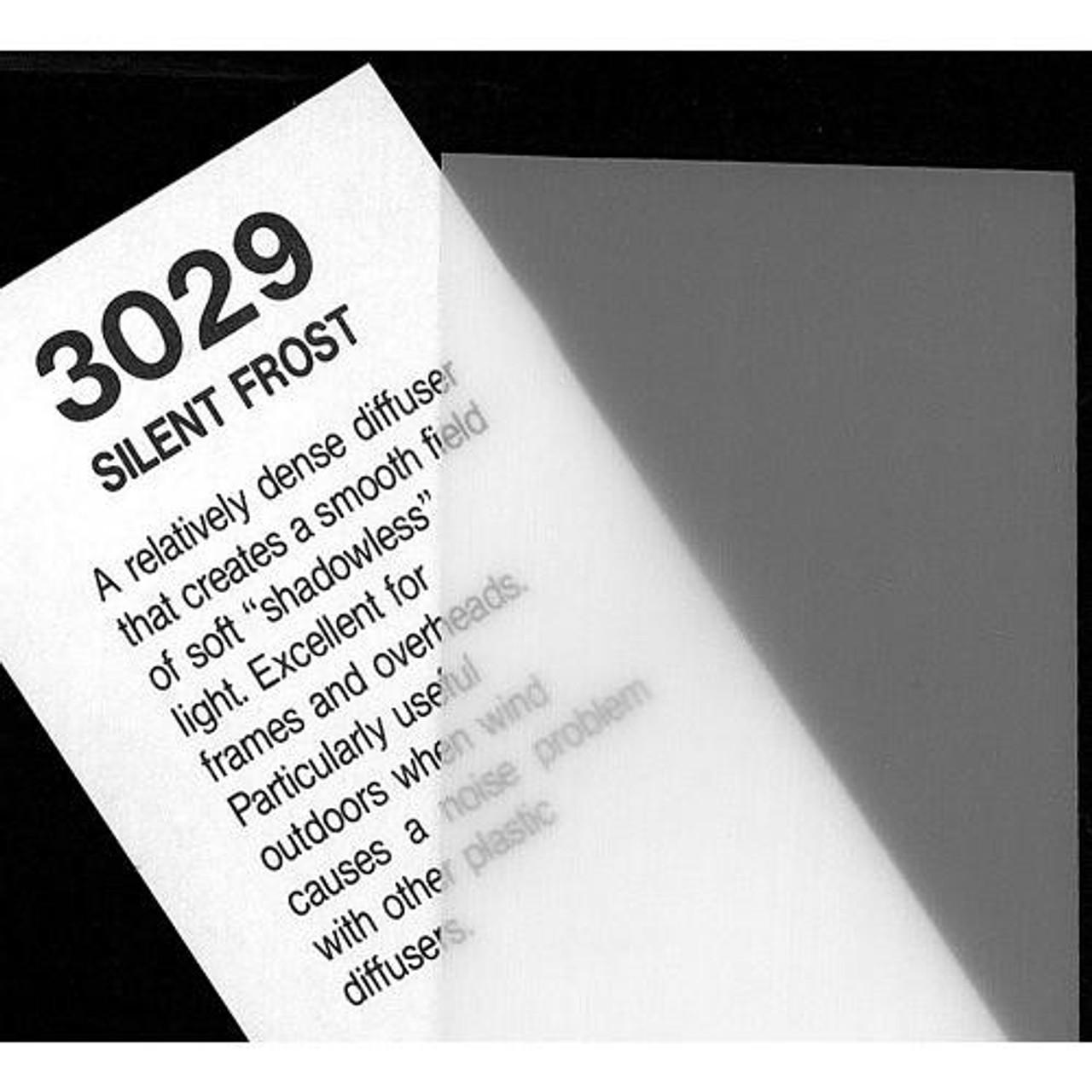 """#3029 Rosco Cinegel Silent Frost, 20x24"""", Gels"""