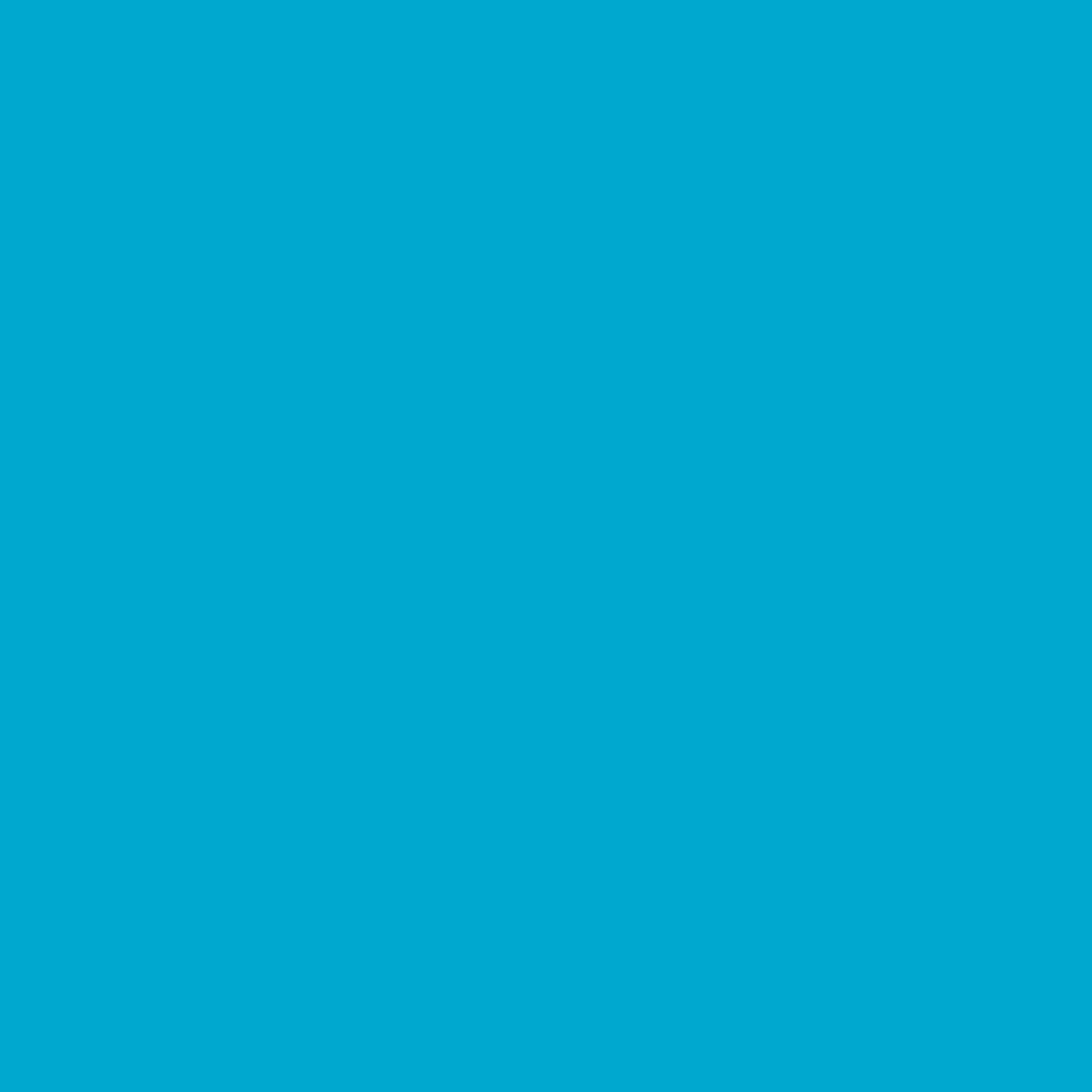 "#0375 Rosco Gels Roscolux Cerulean Blue, 20x24"""