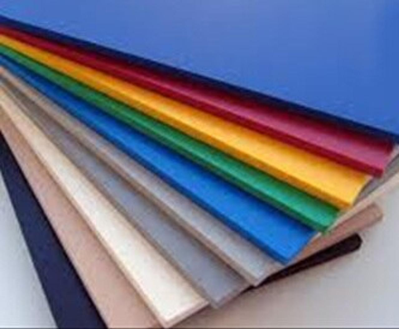 Sintra Board Blue - 4' x 8' x 3mil (122cm x 244cm)
