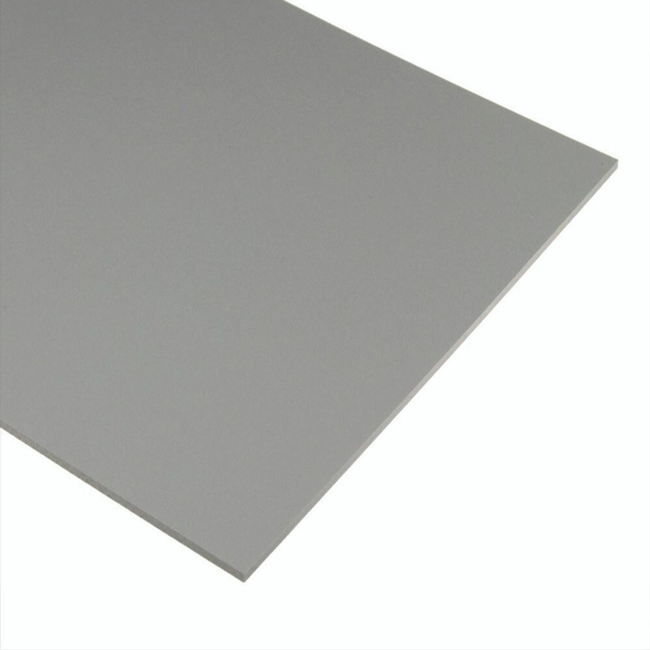"4' x 8' x 1/4"" Grey Acrylic  2 sides Glossy, Plexiglas"