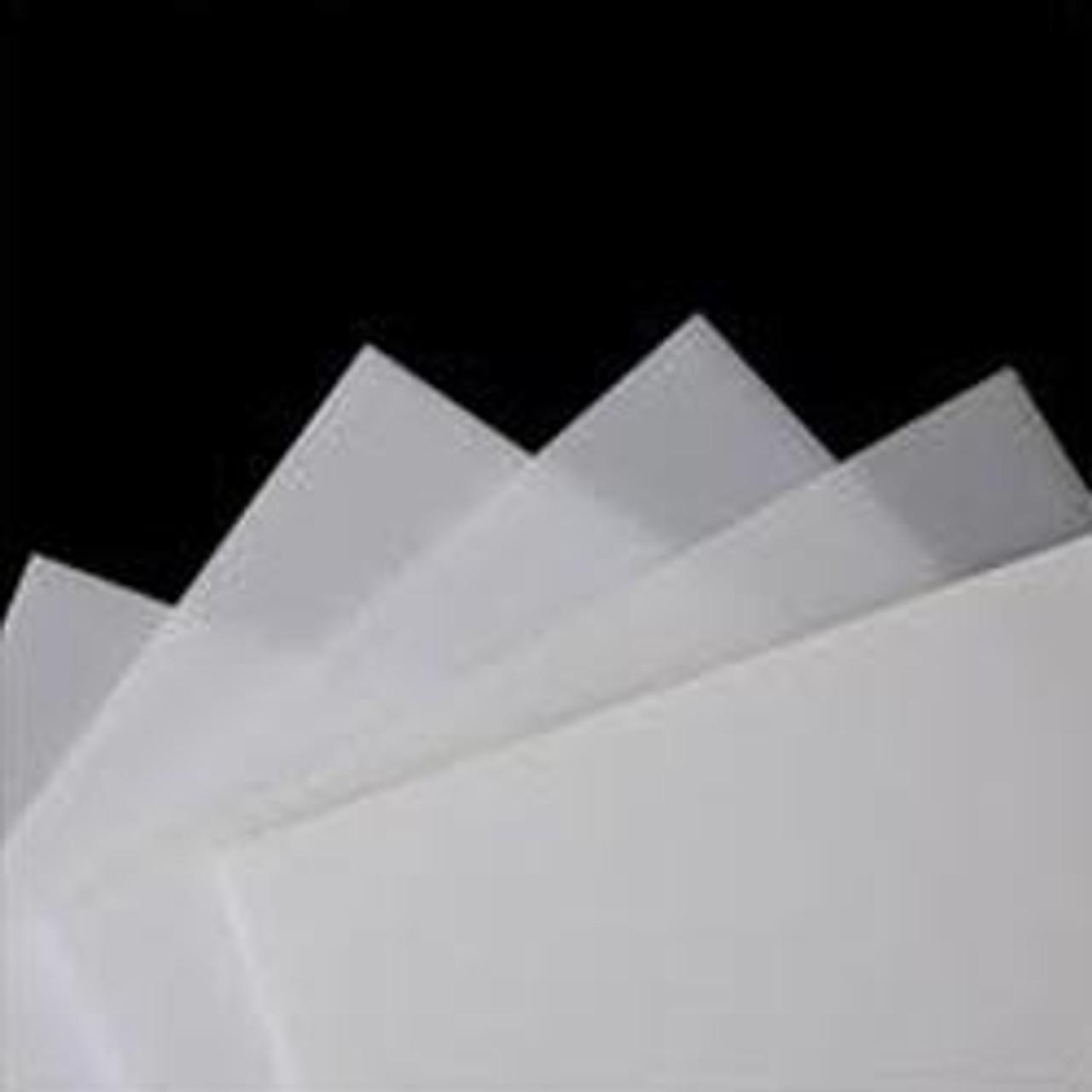 "4' x 8' x 1/8"" Translucent White Acrylic Sheet 2 sides Glossy, Plexi"