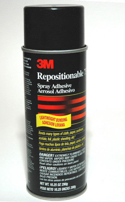3M Repositionable 75 3M Spray Adhesive