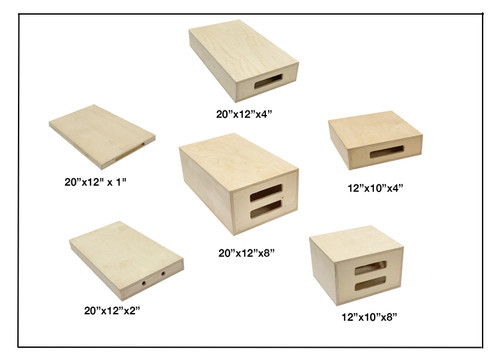 """Apple Box  Half of a Full box 10"""" x 12"""" x 8"""""""
