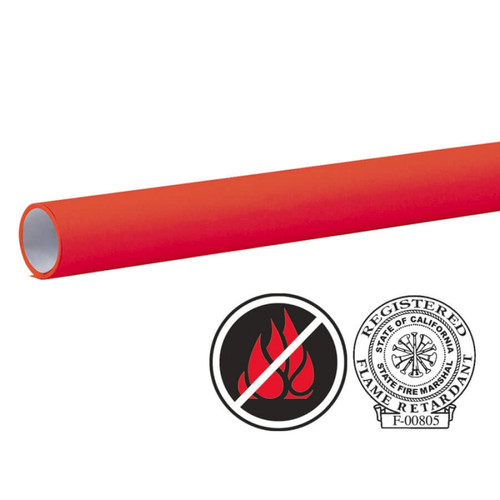 """Pacon Flameless/Fadeless- 48""""X100', Cherry Red Paper"""