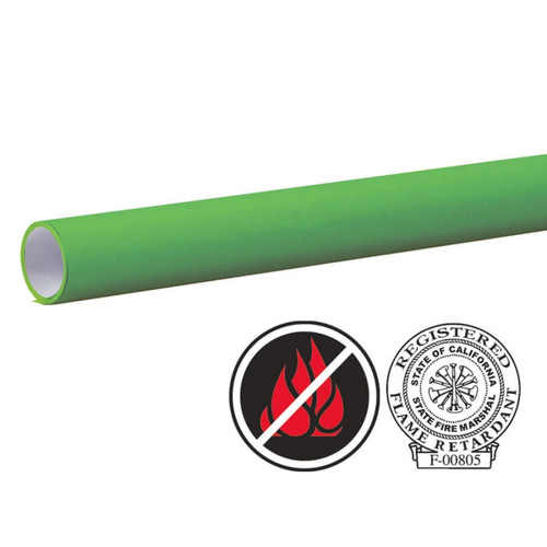 """Pacon Flameless/Fadeless -48""""X100', Tropical Green Paper"""