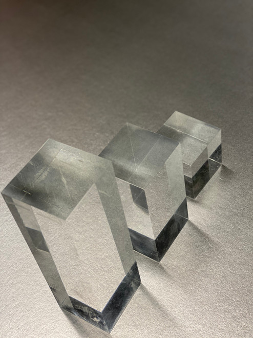 Solid Acrylic Cube Set, Plexi