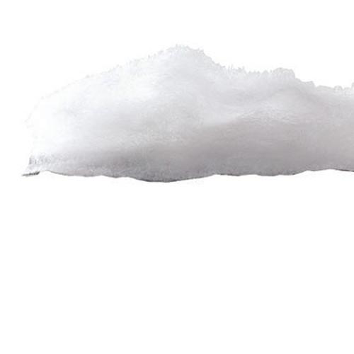 "Flame Retardant Molding Cloth 47""- Snow Printed Canvas (by yd)"
