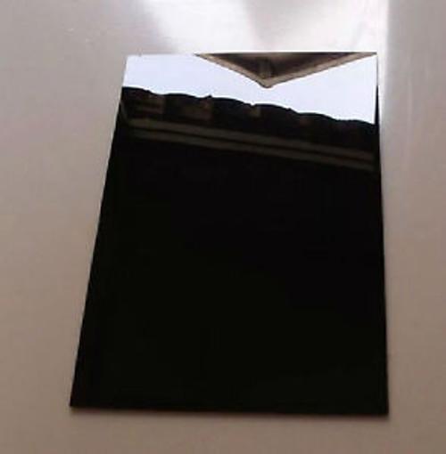 "352025 - 4' x 8' x 1/8"" Opaque Black Acrylic Sheet, 2 sides Glossy"