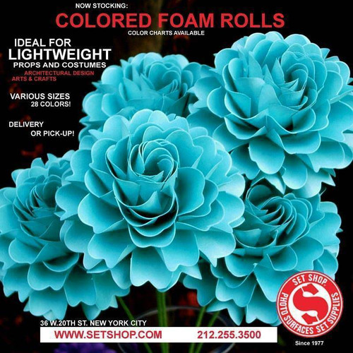 Background Materials - Foam Rolls - Set Shop NYC