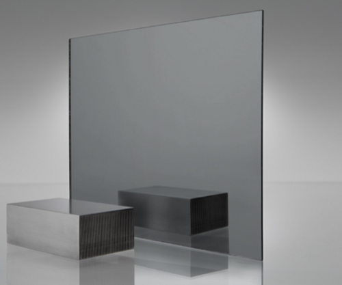 4x8' Mirrored Acrylic GREY SMOKE 1050