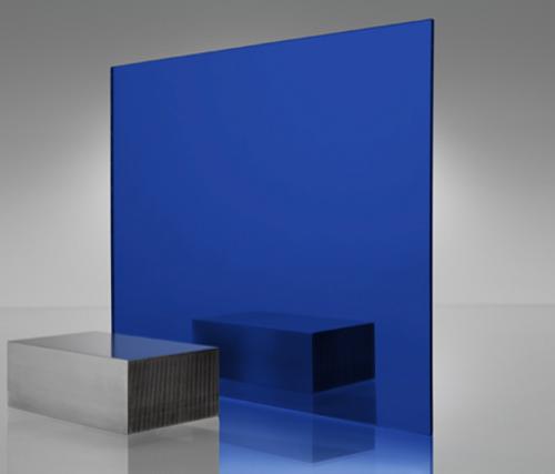 4x8' Mirrored Acrylic BLUE 2424