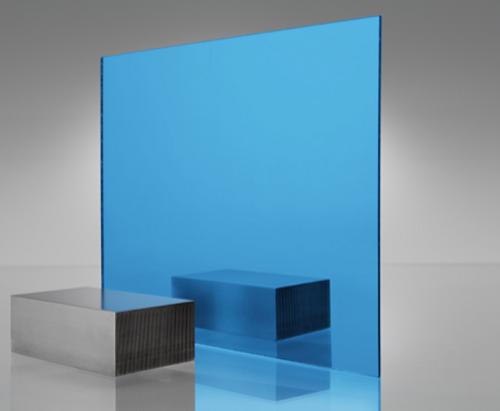 4x8' Mirrored Acrylic BLUE 2069