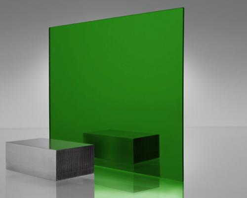 4x8' Mirrored Acrylic GREEN 4674