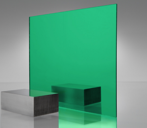 4x8' Mirrored Acrylic GREEN 2414