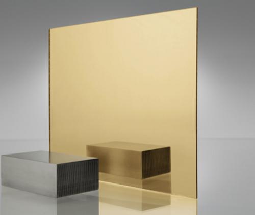 4x8' Mirrored Acrylic GOLD 1300