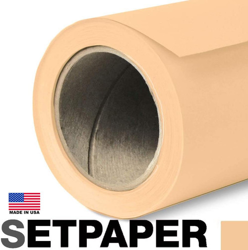 "SETPAPER - WHEAT 107"" x 36' (2.7 x 11m)"