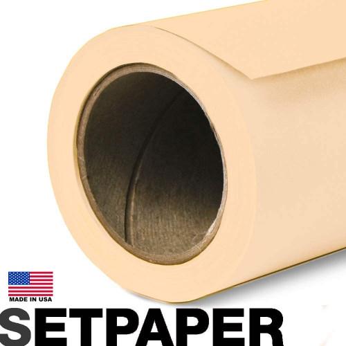 """SETPAPER - CREAM 107"""" x 36' (2.7 x 11m)"""