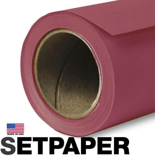 """SETPAPER - RED 107"""" x 36' (2.7 x 11m)"""
