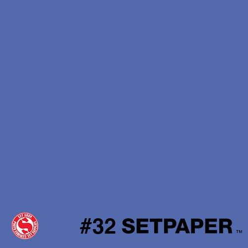 "132 SETPAPER - ROYAL BLUE (CHROMA BLUE)  53"" x 36' (1.3 x 11m)"