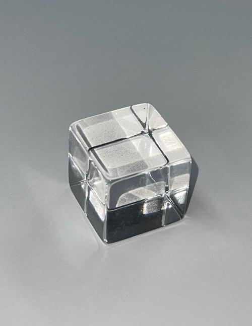 "Clear Solid Acrylic Cube 1"" x 1"""
