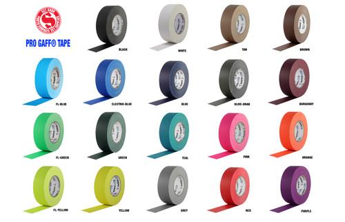 "Pro Gaffers Tape - Purple 2"" x 50 Yds"