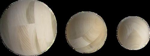 """Wooden Sphere 12"""""""